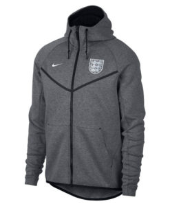 NIKE イングランド 2018 テックフリース オーセンティック ウインドランナー ジャケット Grey