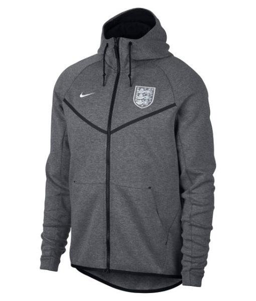 NIKE イングランド 2018 テックフリース オーセンティック ウインドランナー ジャケット Grey 1