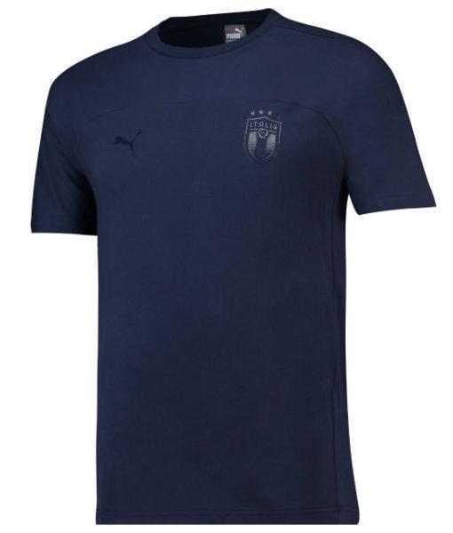 PUMA イタリア 2018 アズーリ Tシャツ Navy 1