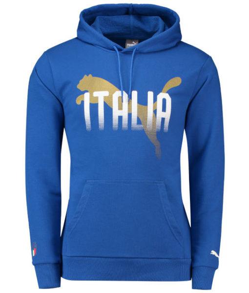 PUMA イタリア 2018 ファン パーカー Blue