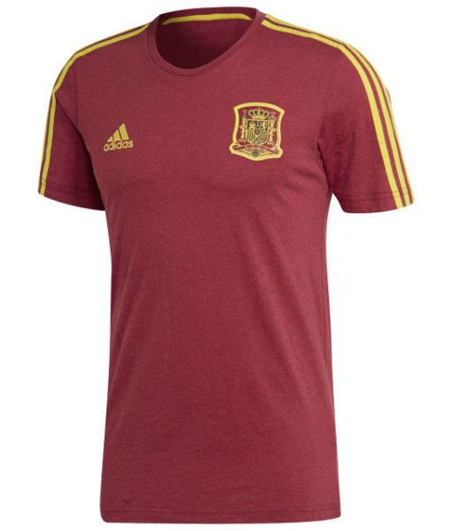 adidas スペイン 2018 3ストライプ Tシャツ  1