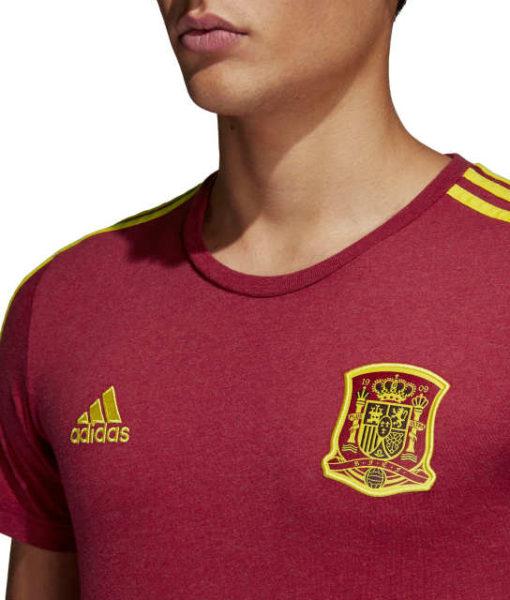 adidas スペイン 2018 3ストライプ Tシャツ
