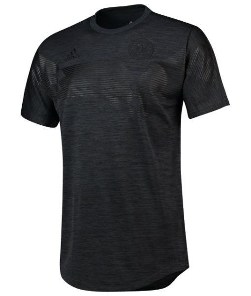 adidas ドイツ 2018 Tシャツ Black 1
