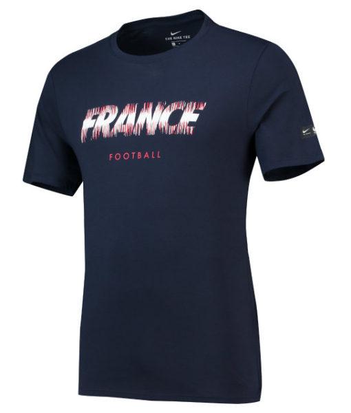 NIKE フランス 2018 プライド Tシャツ Navy 1