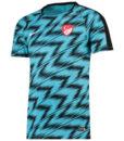 NIKE トルコ 2018 Squad グラフィック トレーニング トップ Blue
