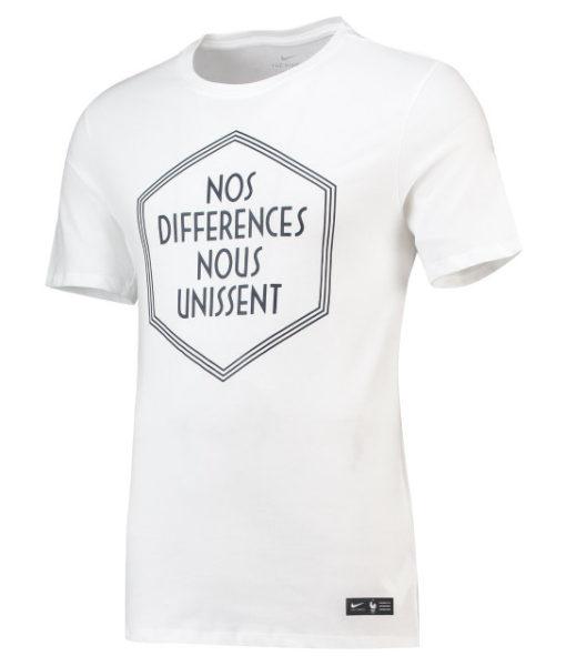 NIKE フランス 2018 Squad Tシャツ White 1