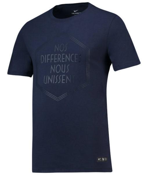 NIKE フランス 2018 Squad Tシャツ Navy 1