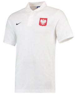 NIKE ポーランド 2018 コア ポロシャツ White