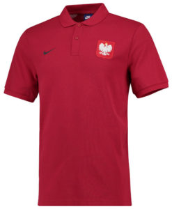 NIKE ポーランド 2018 コア ポロシャツ Red