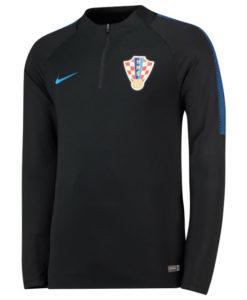 NIKE クロアチア 2018 Squad ドリル トップ Black
