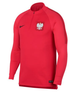 NIKE ポーランド 2018 Squad ドリル トップ Red