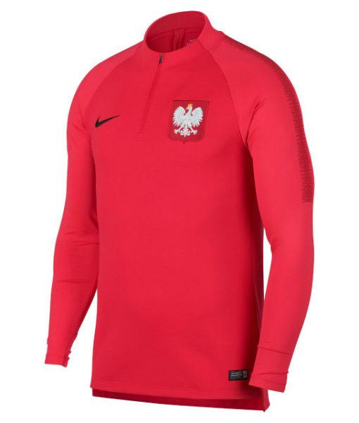 NIKE ポーランド 2018 Squad ドリル トップ Red 1