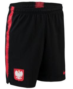 NIKE ポーランド 2018 Squad トレーニング ショーツ Black