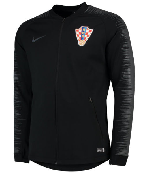 NIKE クロアチア 2018 アンセム ジャケット Black 1