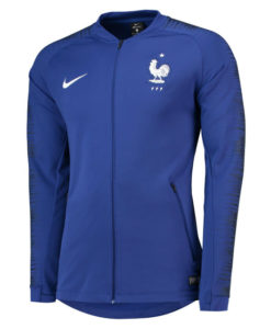 NIKE フランス 2018 アンセム ジャケット Blue