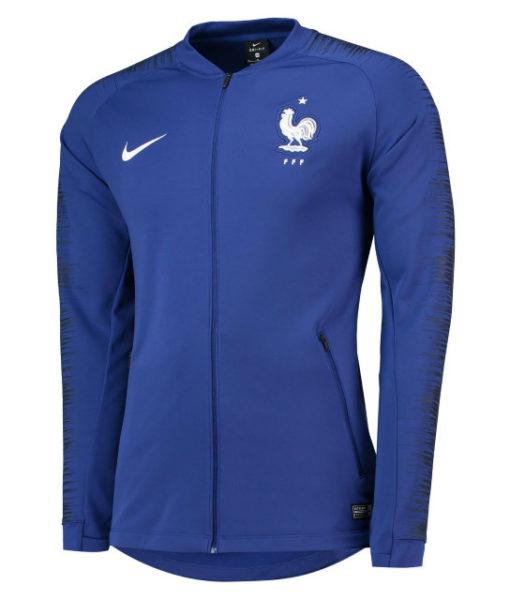 NIKE フランス 2018 アンセム ジャケット Blue 1