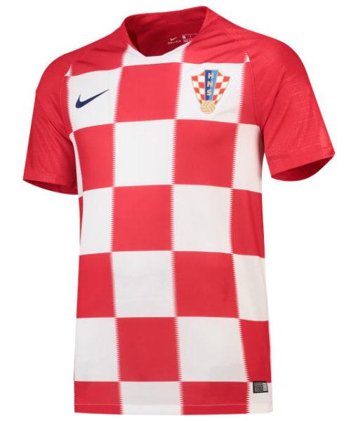 NIKE クロアチア 2018 ホーム スタジアム シャツ  1