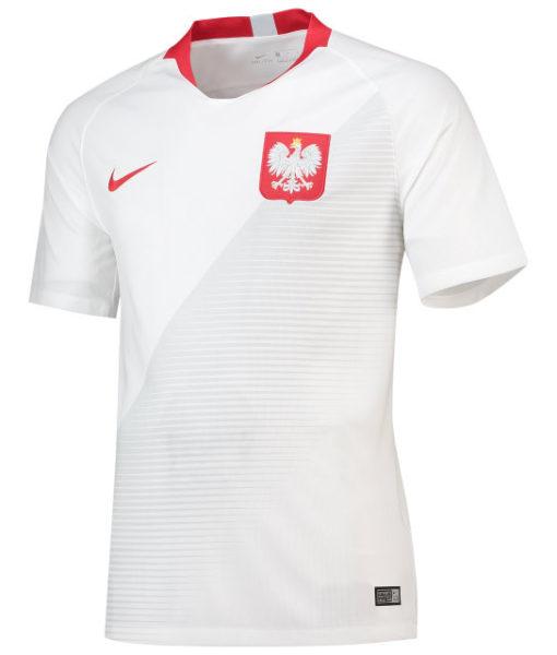 NIKE ポーランド 2018 ホーム スタジアム シャツ  1
