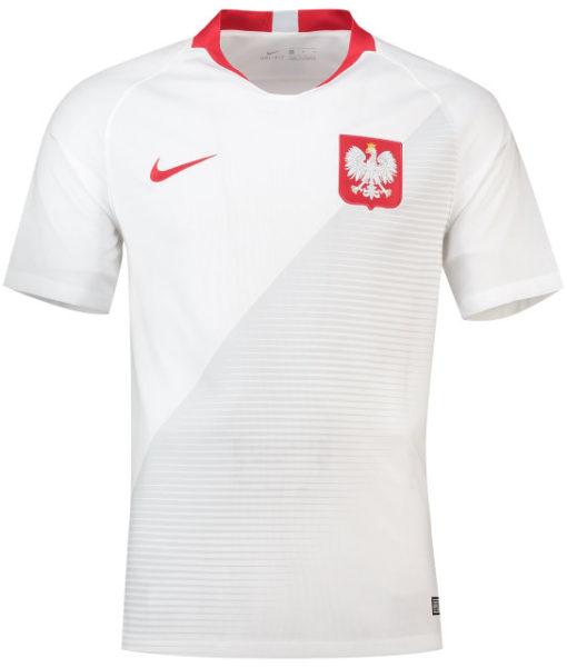 NIKE ポーランド 2018 ホーム スタジアム シャツ