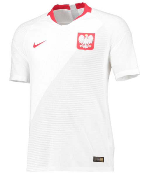 NIKE ポーランド 2018 ホーム ヴェイパーマッチ シャツ  1