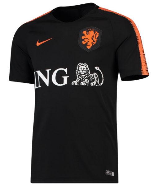NIKE オランダ 2018/19 Squad トレーニング トップ Black 1