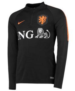 NIKE オランダ 2018/19 Squad ドリル トップ Black