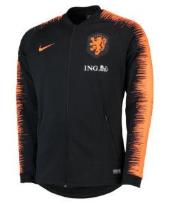 NIKE オランダ 2018/19 アンセム ジャケット Black