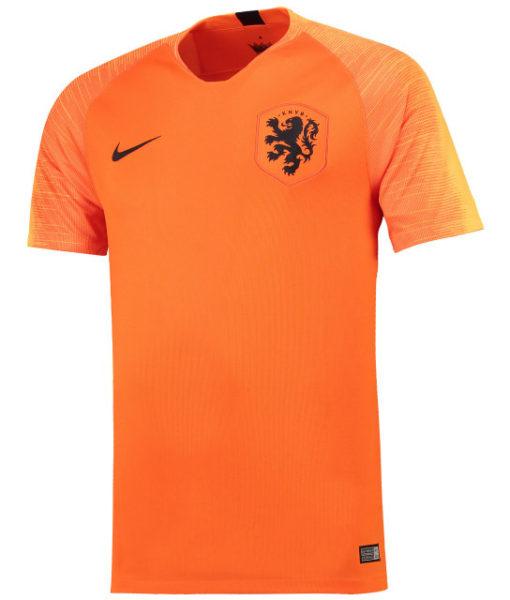 NIKE オランダ 2018 ホーム スタジアム シャツ  1