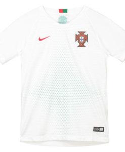 NIKE ポルトガル Kids 2018 アウェイ スタジアム シャツ