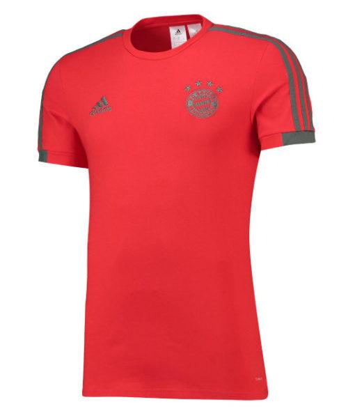 adidas バイエルン ミュンヘン 2018/19 トレーニング Tシャツ Red 1