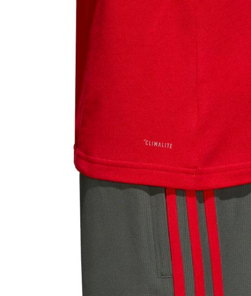 adidas バイエルン ミュンヘン 2018/19 トレーニング ポロシャツ Red