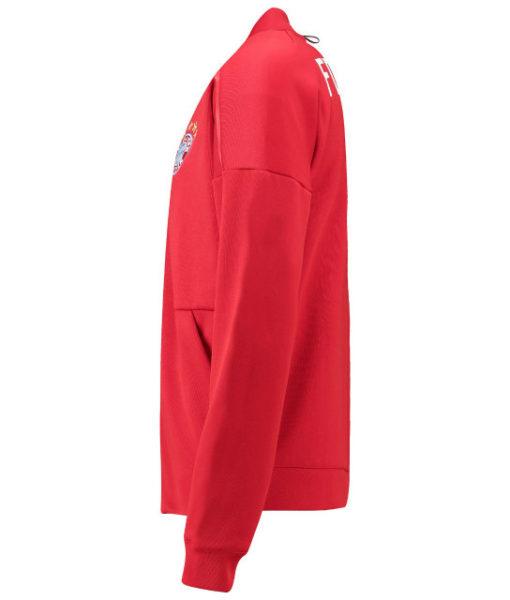 adidas バイエルン ミュンヘン 2018/19 ZNE ホーム アンセム ジャケット Red