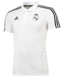adidas レアルマドリード 2018/19 トレーニング ポロシャツ White