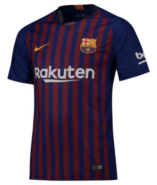 NIKE FCバルセロナ 2018/19 ホーム ヴェイパーマッチ シャツ  1