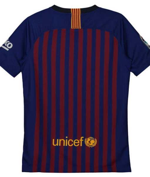 NIKE FCバルセロナ Kids 2018/19 ホーム スタジアム シャツ