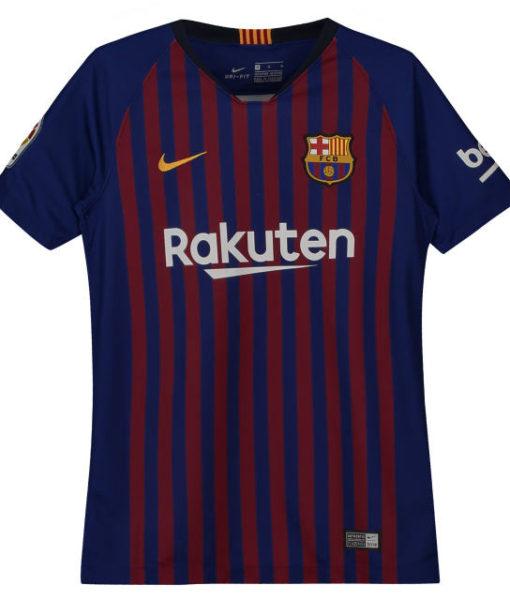 NIKE FCバルセロナ Kids 2018/19 ホーム ヴェイパーマッチ シャツ  1