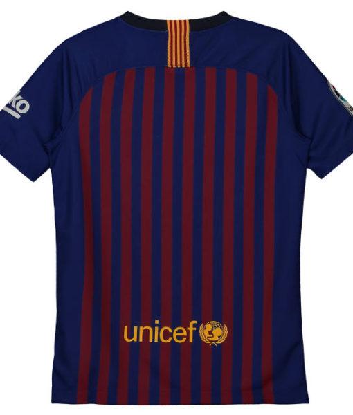 NIKE FCバルセロナ Kids 2018/19 ホーム ヴェイパーマッチ シャツ