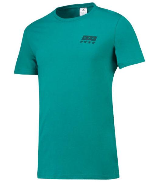 adidas ドイツ 2018/19 グラフィック Tシャツ Green 1