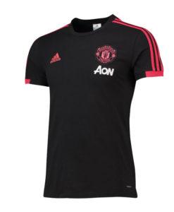 adidas マンチェスターユナイテッド 2018/19 トレーニング Tシャツ Black