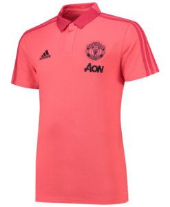 adidas マンチェスターユナイテッド 2018/19 トレーニング ポロシャツ Pink