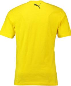 PUMA ドルトムント 2018/19 ステンシル Tシャツ Yellow