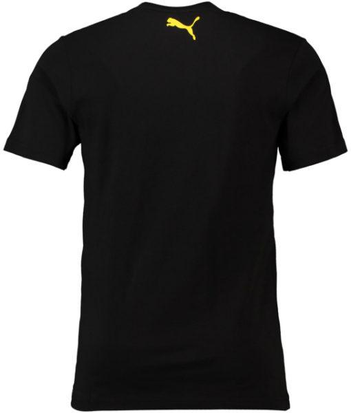 PUMA ドルトムント 2018/19 ステンシル Tシャツ Black