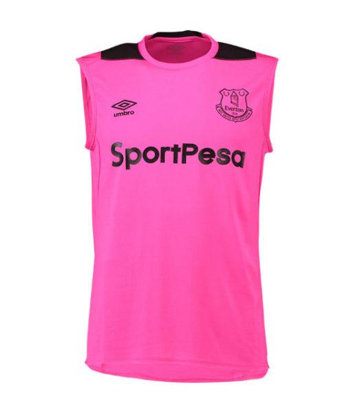 Umbro エヴァートン 2018/19 トレーニング ノースリーブ トップ Pink