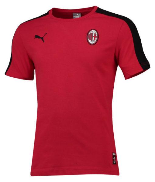 PUMA ACミラン 2018/19 T7 Tシャツ Red 1