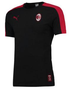 PUMA ACミラン 2018/19 T7 Tシャツ Black