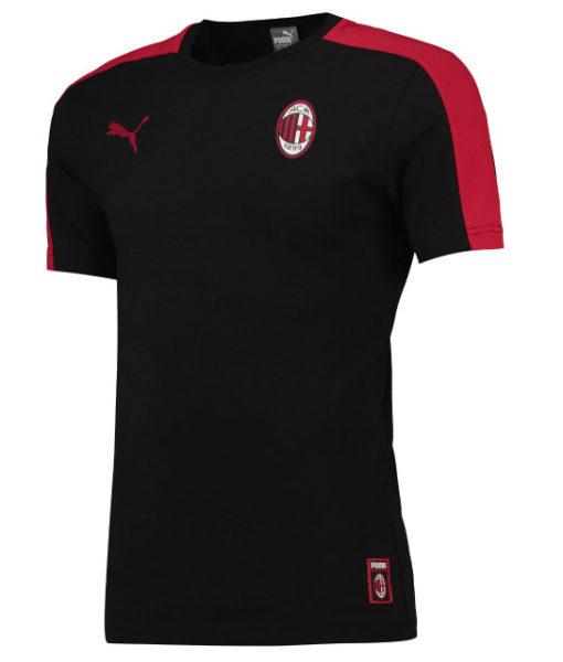 PUMA ACミラン 2018/19 T7 Tシャツ Black 1