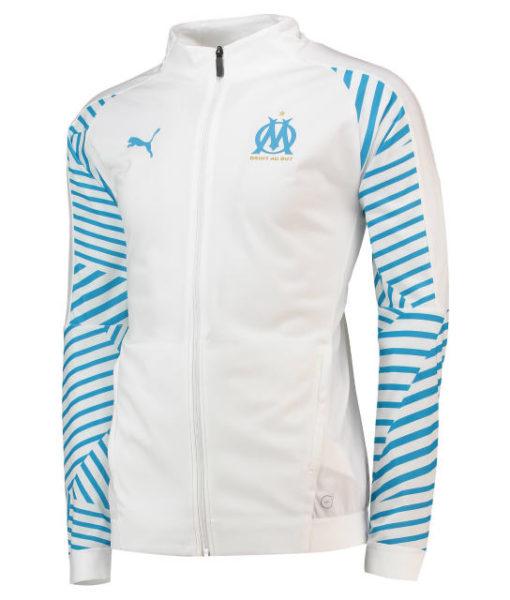 PUMA マルセイユ 2018/19 トレーニング スタジアム ジャケット White 1