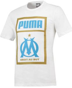 PUMA マルセイユ 2018/19 プリント Tシャツ White