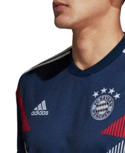 adidas バイエルン ミュンヘン 2018/19 プレマッチ シャツ Navy