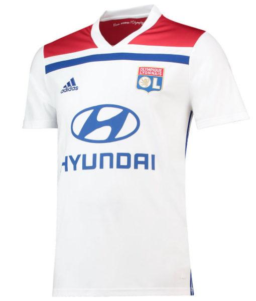 adidas オリンピック リヨン 2018/19 ホーム シャツ  1